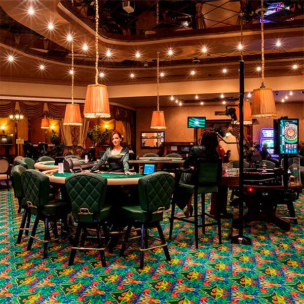 The interior of our casino
